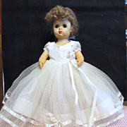 SALE Tiny Terri Lee Bride In Tagged Dress