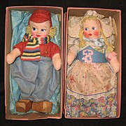 SALE International Doll Company created by Molleye Dutch boy and girl