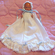 SALE So Sweet Nancy Ann Storybook All Bisque Baby In White