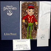 "SALE R. John Wright STRIKE UP THE BAND! ""Brownie w/ cymbals"" HTF Mint in Box"