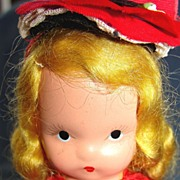"SALE All bisque Nancy Ann Story Book doll ""Alice sweet Alice"""
