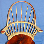 SALE Vintage Windsor Comb Back Doll Chair