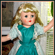 "SALE Gorgeous P-93 Ideal Toni Doll. 21"" All Original!"
