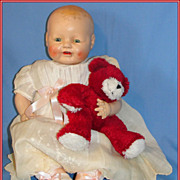 SALE Chubby 1928 Baby Dimples Doll by Horsman - as is