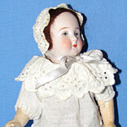 SALE 7&quot; Antique German Bisque Doll