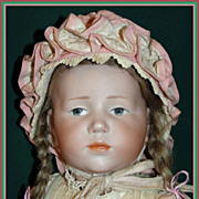 "SALE Antique Kammer & Reinhardt Bisque Character Doll #101 ""Marie"" - Extraordinary!"