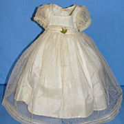 SALE Beautiful Tagged  Madame Alexander's Princess Elizabeth Dress w/full slip combo