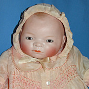 SALE PENDING Outstanding 1920's bisque Grace Putman Bisque Bye-Lo Baby