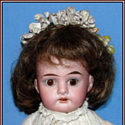 SALE Pert 11-1/2&quot; German bisque doll - Armand Marseille