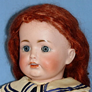 SALE Antique Bisque JDK #260 Character Doll - Sweet!