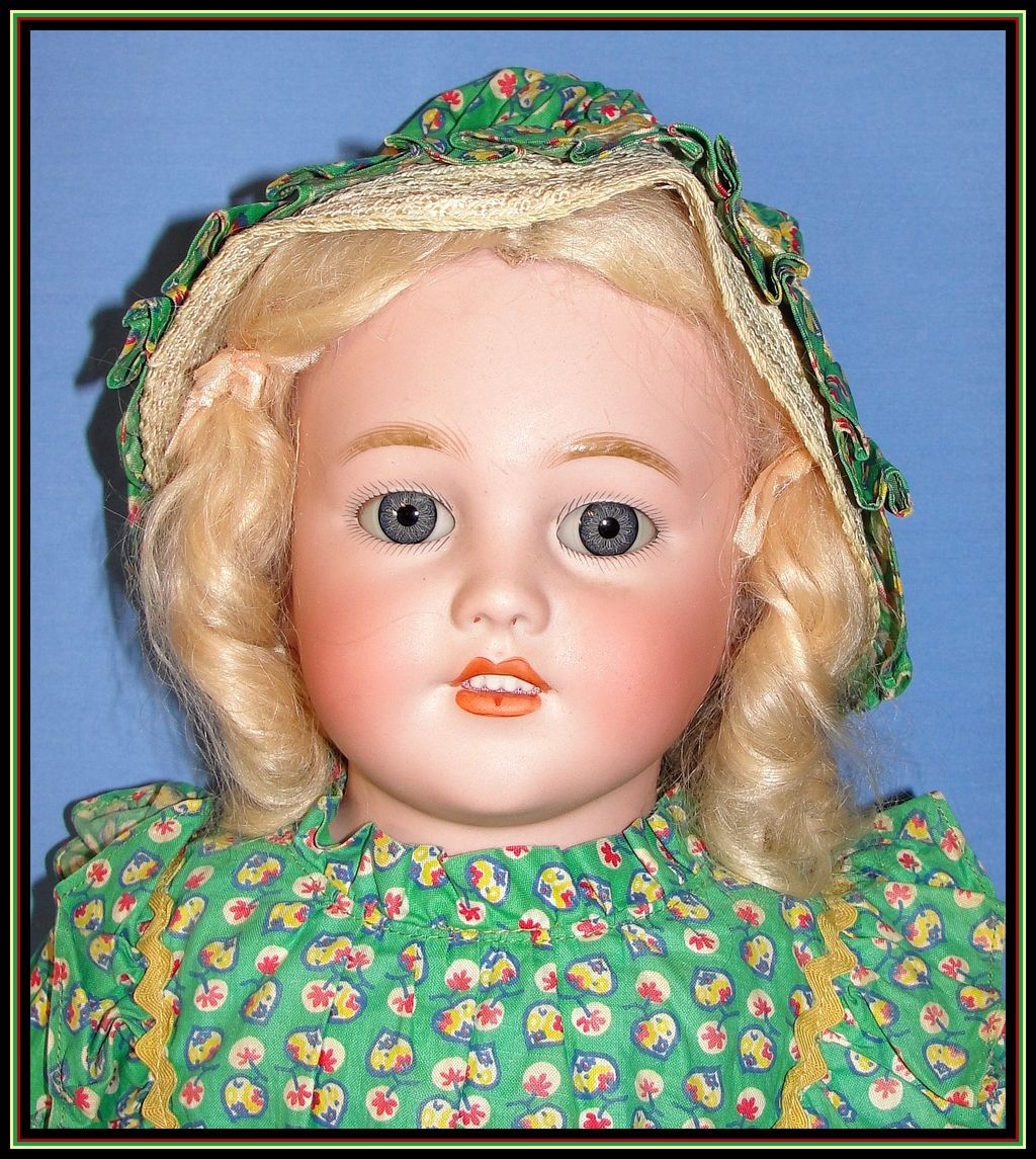 "Beautiful 26"" Simon & Halbig Antique Bisque Child Doll"