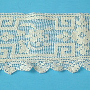 Vintage Filet Lace Trim