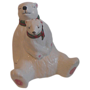Polar Bear Christmas Salt and Pepper Set