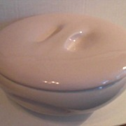 Iroquois Causal China by Russel Wright Pink Sherbert Casserole
