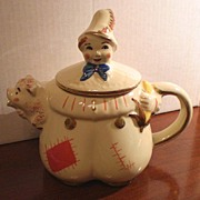 Shawnee Tom the Piper's Son Teapot