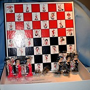 Betty Boop Checkers