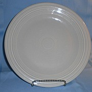 Fiesta Pearl Gray Dinner Plate