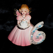 SALE Josef Number Six Birthday Angel