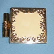 SOLD Helena Rubinstein Baroque Vanity Compact and Lipstick Holder