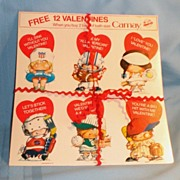 12 Valentines Free with Camay Soap (2 Sets)