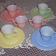 SOLD Hazel Atlas Little Hostess Child's Tea Set