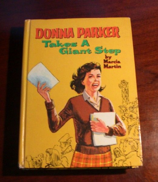 Donna Parker Takes a Giant Step Book by Marcia Martin