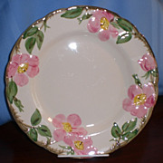 SOLD Franciscan Desert Rose Dinner Plate  - Interpace