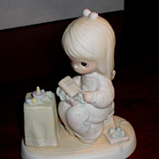 Enesco Precious Moments - May Your Christmas Be Blessed - 1984