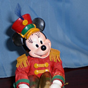 KSA Collectibles Fabriche Christmas Cymbals Player Minnie Mouse