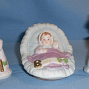 SOLD Three (3) Enesco Growing Up Birthday Girls