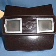 Sawyer's Brown Bakelite Viewmaster