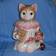 Mervyn's Glass-Eyed Emily the Cat Cookie Jar