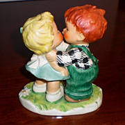 "Goebel Red Head ""Stolen Kiss"" by Charlot Byj"