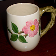 Franciscan Desert Rose Grand  Mug Gladding McBean Mark