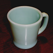 Fire King Jadeite/Jadite D-Handled Coffee Mug