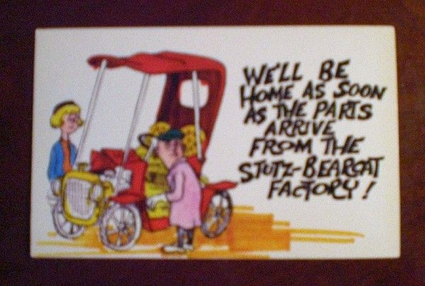 Comic/Humorous Postcard - We'll Be Home Soon
