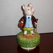 Pigling Bland Beatrix Potter Music Box by Schmid