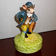 Johnny Town Mouse Beatrix Potter Music Box by Schmid