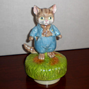 Beatrix Potter Tom Kitten Schmid Music Box