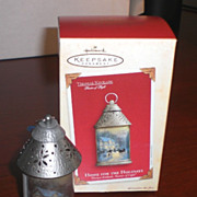 Hallmark Keepsake Ornament, Home for the Holidays, Thomas Kinkade