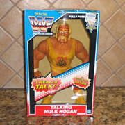 Official World Wrestling Federation Talking Hulk Hogan in Box