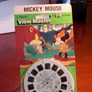 View-Master Mickey Mouse 3D Pictures