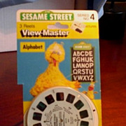 View-Master Sesame Street Alphabet
