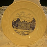 "Wedgwood Historical Flow Blue Transferware ""WHEATLAND"""