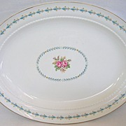 Vintage Hall Harmony House Large Oval Serving Platter
