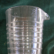 Rare Old Silvers Brooklyn Measuring Vessel/Cup