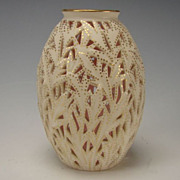 Antique Reticulated Grainger Worcester China Porcelain Vase c1875