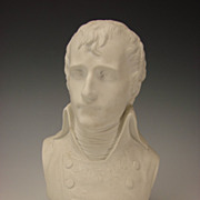 Antique Sevres Porcelain Bust Sculpture of Napoleon Signed/Dated