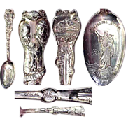 Full Size Lewis & Clark Exposition Sterling Souvenir Spoon