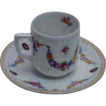 Bavaria Schumann Pretty Demitasse Cup & Saucer
